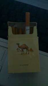Schachtel Camel aus Brasilien
